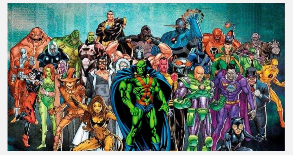 A Rogues Gallery for Martian Manhunter