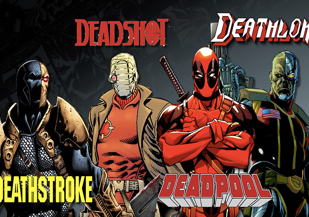 DEATHSTROKE VS DEADSHOT VS DEADPOOL VS DEATHLOK