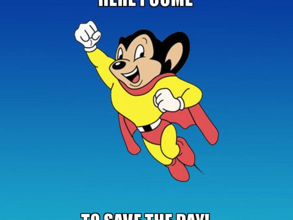 Mighty Mouse: The Cartoon Hero that Needs a Comeback