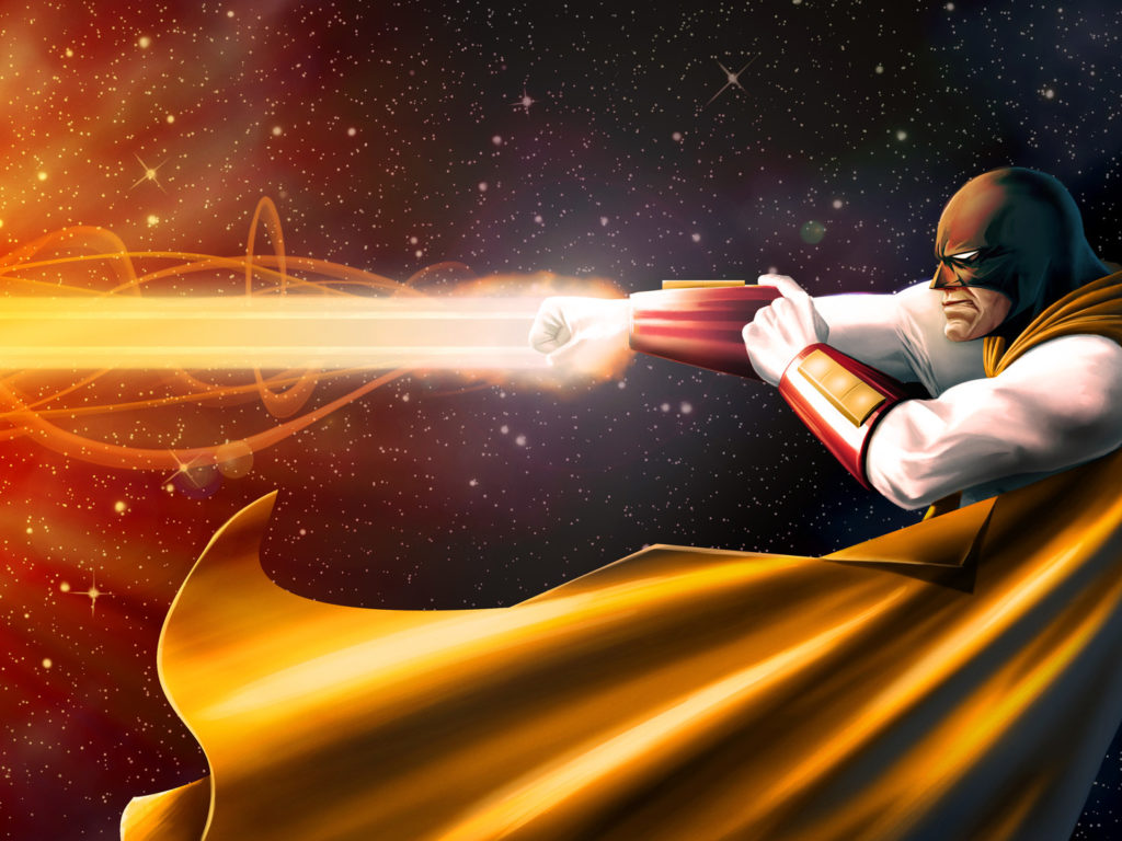 A Return Call for Space Ghost
