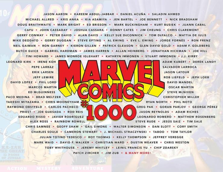 Marvel Comics #1000: A Celebration of 80 Years