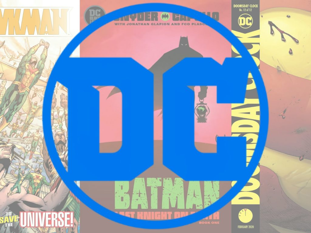 Top 10 DC Comics of 2019